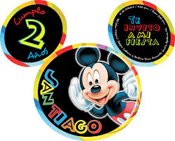 Invitaciones De Cumpleanos De Mickey Mouse Para Poner De F Con
