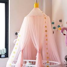 Wenyujh Mosquito Net Canopy Dome Princess Bed Canopy Kids Play Tent Mosquito Net Childrens Room Decorate