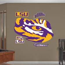 Lsu Tigers Eye Of The Tiger Logo Wall Decal Wall Decal Allposters Com