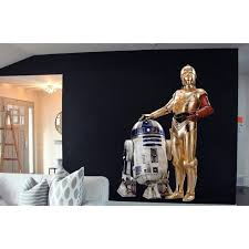 Shop Full Color C3po R2 D2 Full Color Decal Star Wars Full Color Sticker Wall Art Wall Sticker Decal Size 48x76 Overstock 14358450