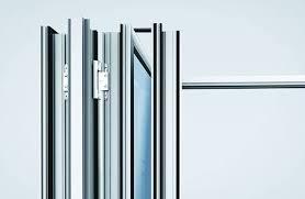 tinted glass folding bifold doors