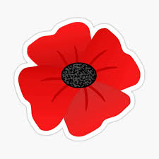 Remembrance Poppy Stickers Redbubble