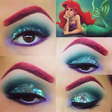 maquillage the little mermaid makeup