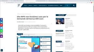 Il sito INPS non funziona con rischi per la privacy e altre ...