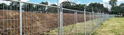 Semi Permanent Temporary Fencing Hire Stronger More Secure