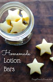 homemade lotion bars frugal family home