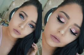 glam prom makeup tutorial