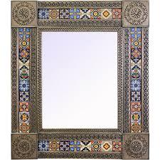 talavera tile mirrors collection