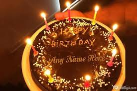 birthday cakes with name maker