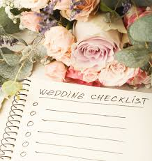 free wedding checklists for planning