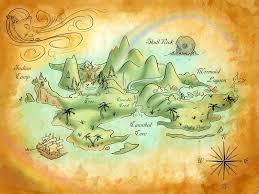 Neverland Map Neverland Map Pirate Maps Neverland Nursery