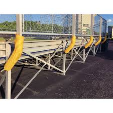 Yellow Poly Cap Fence Topper Sports Advantage