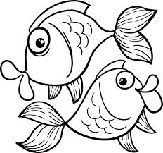 Kleurplaat Vis Teken Vissen Met De Mooiste Kleuren Gratis