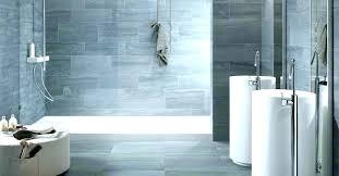 blue grey bathroom wall tile color