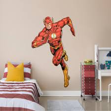 The Flash The New 52 Life Size Officially Licensed Dc Removable Wall Decal Removable Wall Decals Wall Decals Superhero Wall Decals