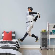 Aaron Judge New York Yankees Fathead Swing Life Size Removable Wall Decal