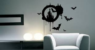 Chateau De Bats Halloween Wall Decals Dezign With A Z