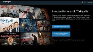 Amazon Prime Türkiye Açıldı - Tamga Türk