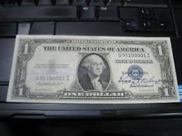 Ivy Baker Priest / Robert Anderson Treasury Dual Signed $1 1935 Silver Cert  Nice | eBay