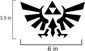 Designer Decor Legend Of Zelda Triforce Buy Online In Jamaica At Desertcart