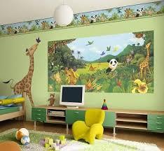 Cute Jungle Green Kids Rooms Kids Room Wallpaper Themed Kids Room