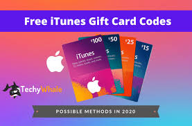free itunes gift card codes 2020 april