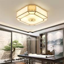 square contemporary ceiling lights