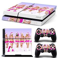 Sexy Girl Pvc Protection Decal Skin Cover Case Sticker For Ps4 Playstation 4 Console 2 Controllers Skin Buy At The Price Of 2 98 In Aliexpress Com Imall Com