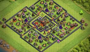Town Hall 10 Farming base • Cocthegame.com