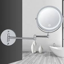 light folding double wall mount vanity