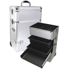 makeup case with trays style no ts
