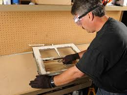 how to replace a broken glass pane in a