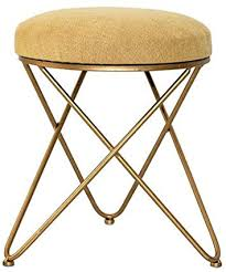 shoes bench dressing stool nordic gold