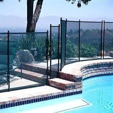 6 Best Temporary Fences 2019 For Inground And Above Ground Pools Poolsplanet
