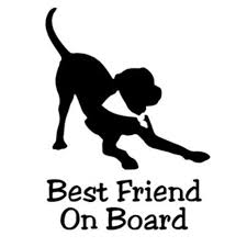 12cm 15cm Best Friend Dog Baby On Board Vinyl Sticker Car Decals Art Painting Car Stickers Vinyl Decor Decals Car Stickers Aliexpress
