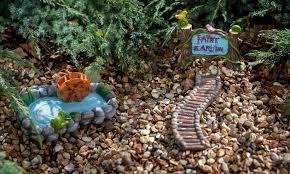 fairy garden miniature set groupon goods
