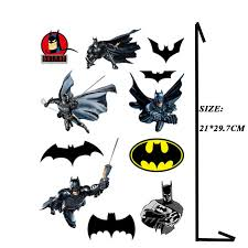 Batman Waterproof A4 Size For Phone Ipad Tablet Laptop Luggage Skateboard Bike Motorcycle Car Styling Decal Stickers Aliexpress