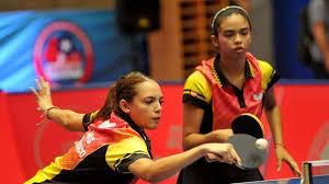 DIAZ Melanie / DIAZ Adriana - LEE Eunhye / KIM Hayeong | ITTF TV