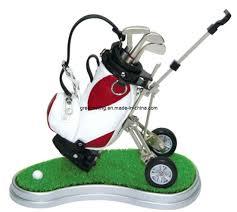 promotional golf cart pen holder gifts