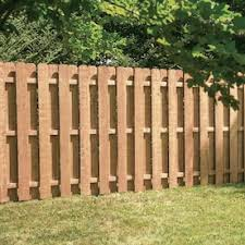 6 Ft H X 6 Ft W Redwood Fence Panel In The Wood Fence Panels Department At Lowes Com