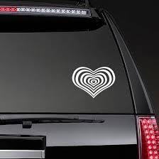 Heart Vortex Sticker