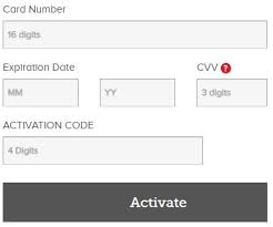 how to activate my vanilla visa gift card
