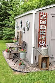 potting shed design decorations