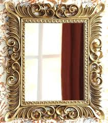 antique gold framed mirror wall mirrors