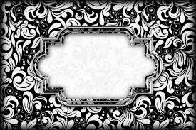 Blanco Y Negro Invitaciones Para Imprimir Gratis Ideas Y
