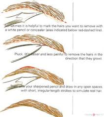 best way to shape eyebrows with pencil