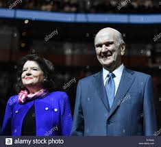 Orlando, Florida. 09th June, 2019. Russell M. Nelson, the 94 year ...
