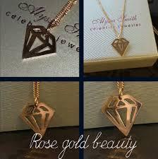 bespoke 18 carat rose gold diamond