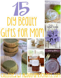 15 diy beauty gifts for mom about
