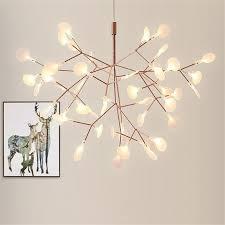 art led firefly pendant light modern